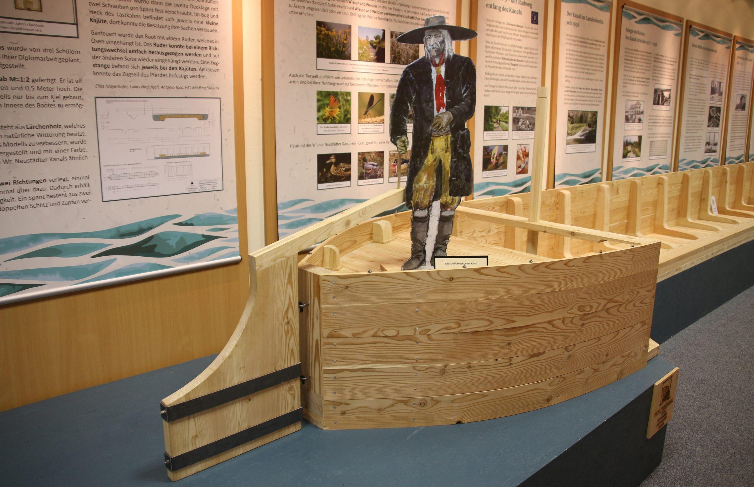 Ausstellung Schwimmende Landstraße im Museum Traiskirchen