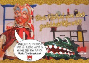 Kasperlspiel im Museum Traiskirchen am 24.12.2020