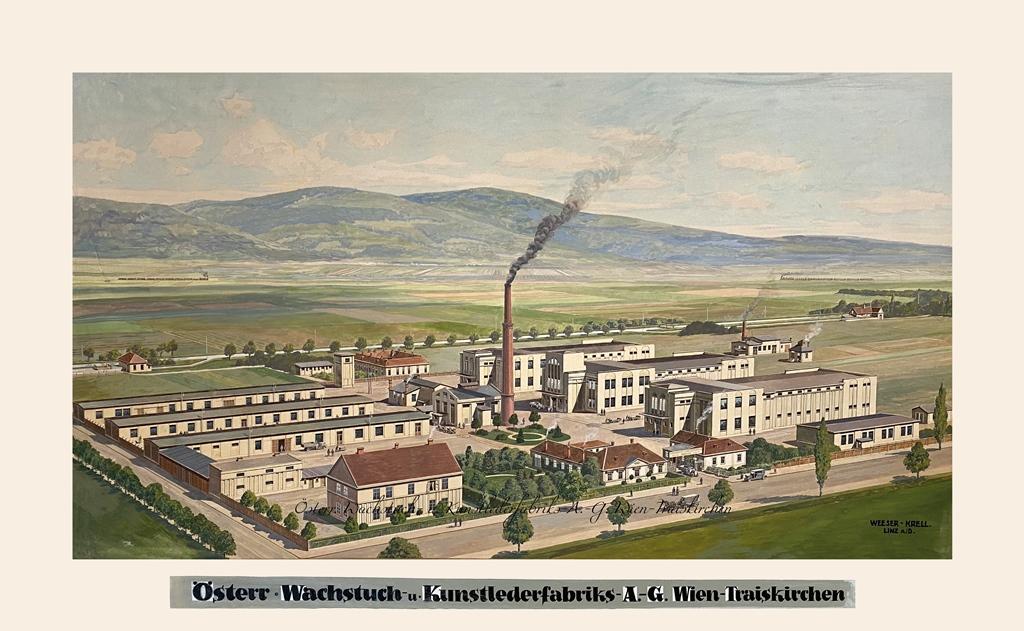 Österreichische Wachstuch- und Kunstleder AG Gemälde von Weeser-Krell