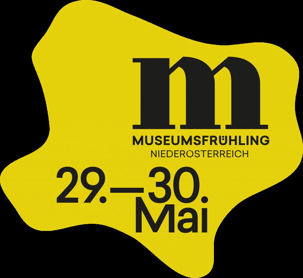 Logo Museumsfrühling NÖ 2021