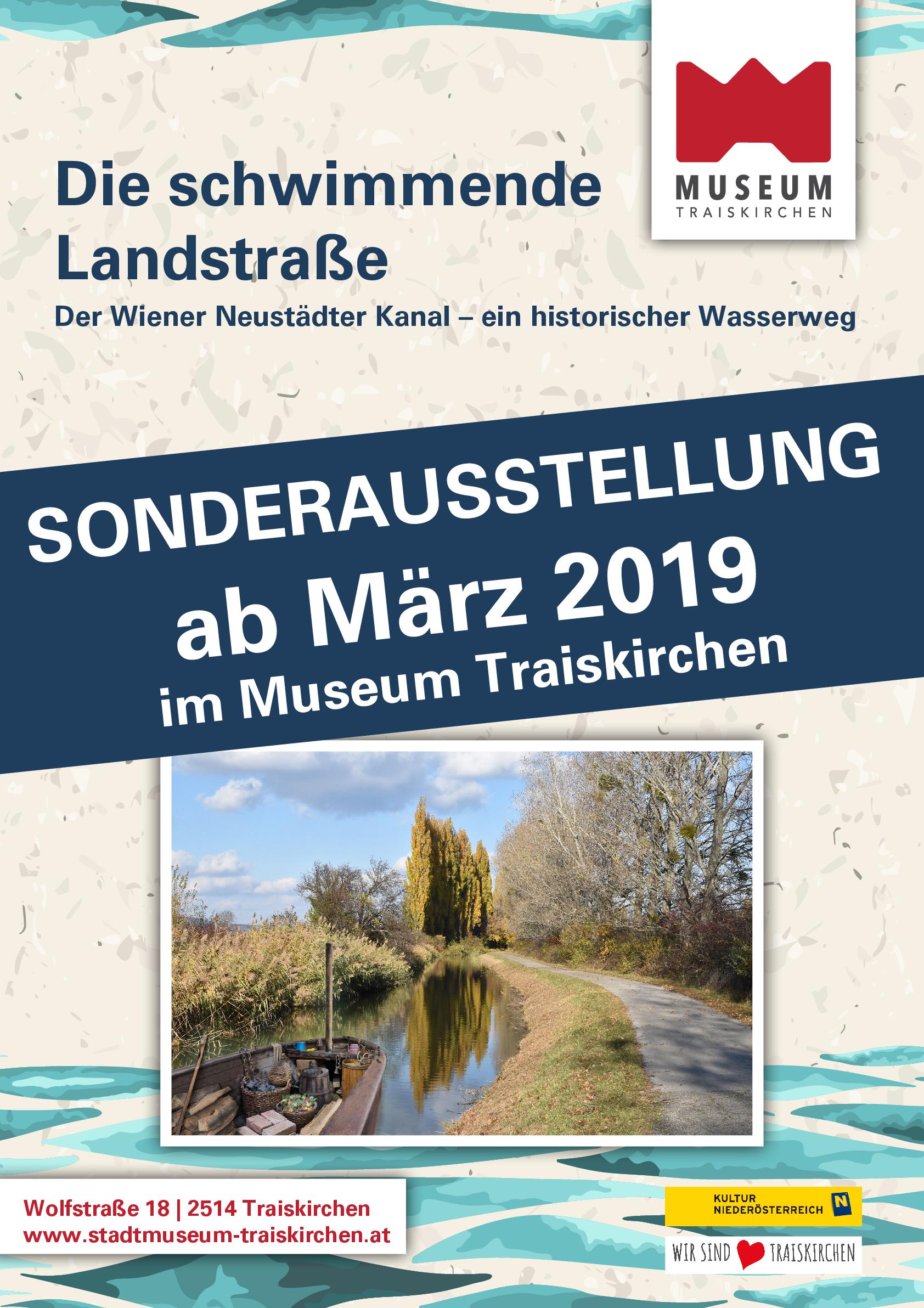 Schwimmende Landstraße Museum Traiskirchen